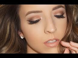 natural glam prom 2017 makeup tutorial