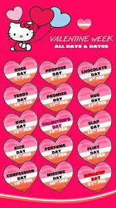 happy valentine day week list heart s valentine day week