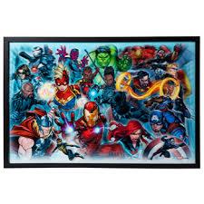 Marvel S Avengers Lenticular Wall Decor Hobby Lobby 1963065