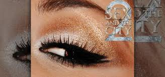 and the city 2 arabian makeup look