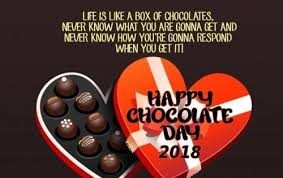 chocolate day quotes greetings wishes messages for girlfriend