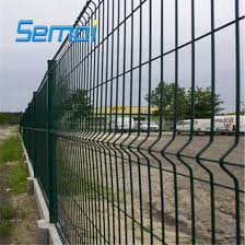 Pvc Coated Metal Fence Panels Steel Welded Wire Mesh Fences Made In China China Curved Fence Bend Fence