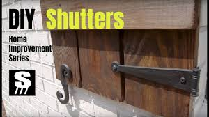 diy shutters 9 steps with pictures