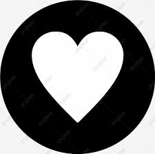 ناقلات رمز القلب الخلفية أسود تصميم Png والمتجهات للتحميل مجانا