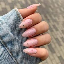 nail designs for almond nails that are