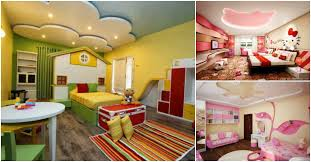 Outstanding Gypsum Board Designs For Your Kids Bedroom