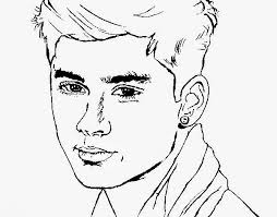 Free One Direction Printable Coloring Pages Download Free Clip