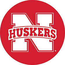 Amazon Com Nebraska Cornhuskers Huskers Decal Rr 4 Round Vinyl Auto Home University Of Sports Outdoors