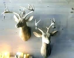 small animal head wall mount for home