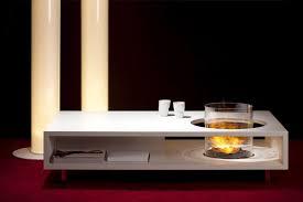 chimeneas etanol mesas de café