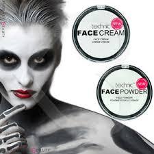 white foundation cream face paint