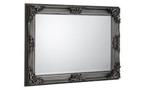 rococo pewter wall mirror swfurnishings