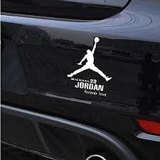 Michael Jordan Car Stickers Basketball D Buy Online In Georgia At Desertcart