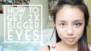 how to get bigger eyes with make up