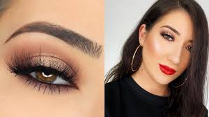 zoella makeup tutorial smokey eye