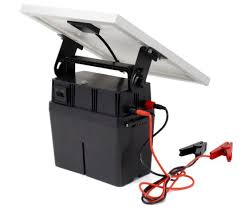 China 20w 3j Waterproof Solar Electric Fence Energizer For Farm China Solar Powered Energizer