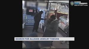 men in connection to jewelry heist