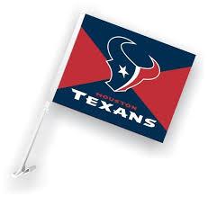 2x Houston Texans 5 Nfl Football Team Logo Car Window Vinyl Decal Sticker