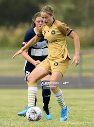 Courtney Nevin of the Wanderers controls the ball during the round... News  Photo - Getty Images