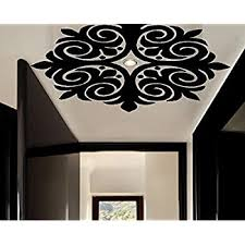 Amazon Com Exq Ceiling Wall Decals 1 Fan Or Light Accent Wall Decals 22 X 22 Stickers Home Decor Living Room Home Kitchen