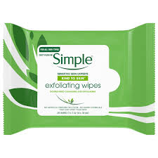 skin exfoliating makeup remover wipes