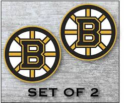 Boston Bruins Hockey Vinyl Sticker Decal For Cornhole Laptop Car