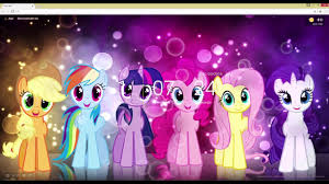 my little pony live wallpaper you