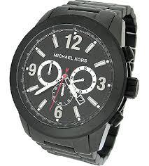 michael kors chronograph 100m mens