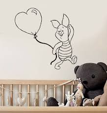 Wall Stickers Vinyl Decal Winnie The Pooh Cartoon Piglet Kids Baby Room Ig1040 For Sale Online