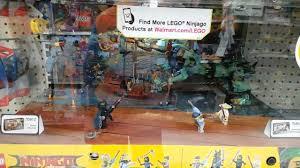 Lego Ninjago Movie kiosk at Walmart - YouTube