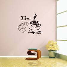 Bon Appetit Coffee Rumors Home Decor Wall Sticker Removable Sticker Sale Price Reviews Gearbest