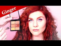 eye makeup tutorial for gingers or