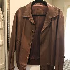 vintage mens brown leather