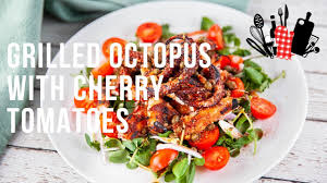 Grilled Octopus With Cherry Tomatoes ...