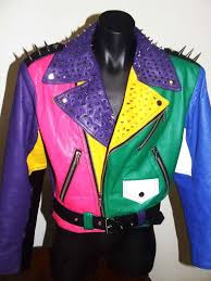 80s 90s womens fierce leather jacket