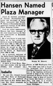 Wesley Hansen named plaza manager - Newspapers.com