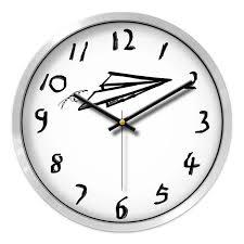 Minimalist Cartoon Wall Clock Silent Nordic Cute Wall Clocks Kids Room Reloj Pared Infantil Home Decor Children Watches Ab50wc Wall Clocks Aliexpress