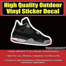 Air Jordan Wings Vinyl Decal Auto Graphics Wall Sticker 36 Shoe Box Any Color Auto Parts And Vehicles Car Truck Graphics Decals Magenta Cl