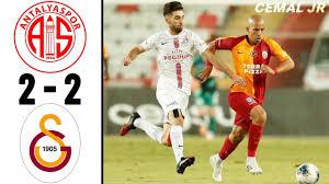 Antalyaspor 2 - 2 Galatasaray Geniş Maç Özeti