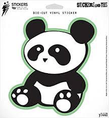Amazon Com Panda Bear Jdm Vinyl Sticker Small Window Bumper Phone Decal 3 X 3 Automotive