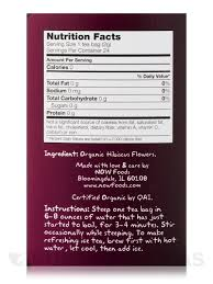 organic hip hibiscus tea bags