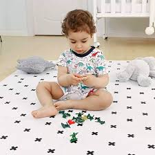 Extra Large Foam Puzzle Play Mat With Fence Kidsplayhaus