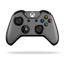 Xbox One Controller Metallic Grey Carbon Fibre Skin Wrap Decal Easyskinz