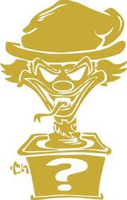 Jp Vinyl Design Icp Insane Clown Posse Riddle Box Logo Vinyl Decal 20 Gold Yomonononoanoerno