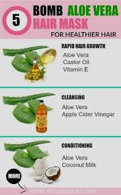 aloe vera for hair diy hair growth oil