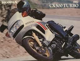 1982 honda cx500 turbo advert clic