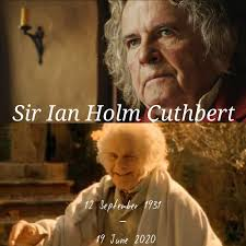 Sad news...our Bilbo just left for the Undying Lands. He can now rest in  peace with all the other Legends❤ : lotr
