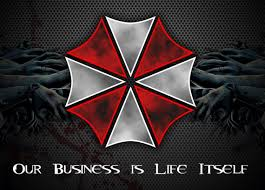 Umbrella Corporation Resident Evil Game Car Bumper Window Sticker Decal 5 X4 Resident Evil Movie Resident Evil Resident Evil Game