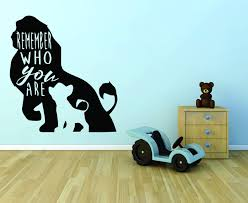 The Lion King Wall Decals For Kids Rooms Buy Online In Lebanon At Desertcart