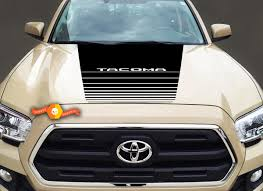 Product Toyota Tacoma Vinyl Hood Decal Sticker Graphics Stripe 2016 2019